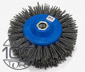 Нейлон абразивная дисковая щетка OSBORN для брашировки древесины жесткая (K60)