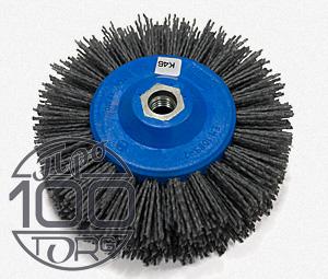 Щетка дисковая OSBORN D140x55, ворс полимер-абразив K46, М14